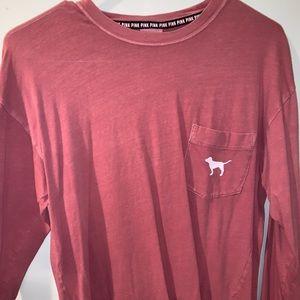 Pink Victoria secret long sleeve